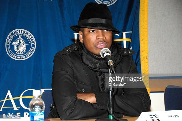 NeYo during the 'Music Makers Speak Their Mind' workshop with invited students at The Recording Academy New York Chapter's GRAMMY Career Day at Pace...