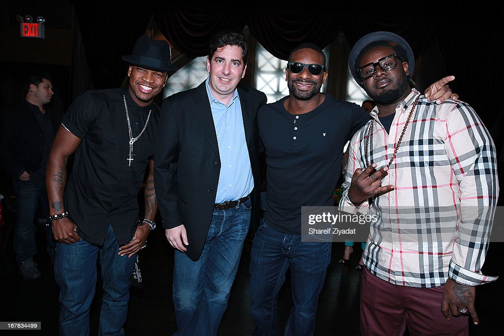 Neyo, John Acunto, Dj Irie and T Painattend the Gig-It Launch Party at Capitale Bowery on April 30, 2013 in New York City.