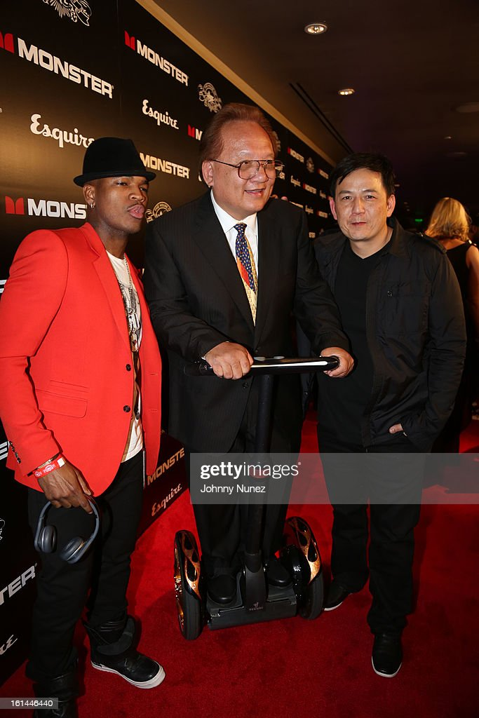 Ne-Yo, Noel Lee and Kevin Lee attend House Of Hype Monster Grammy Party at House Of Hype on February 10, 2013 in Los Angeles, California.
