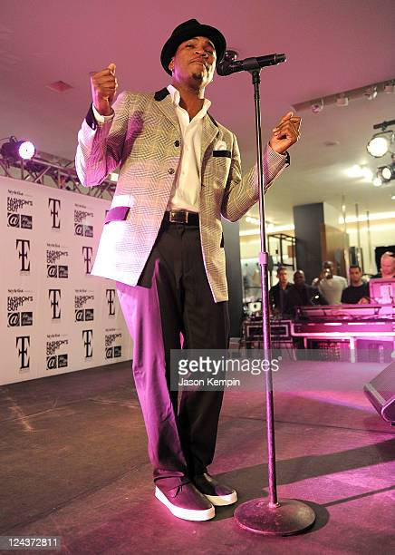 NeYo performs at Fashion's Night Out at SAKS Fifth Avenue on September 8 2011 in New York City
