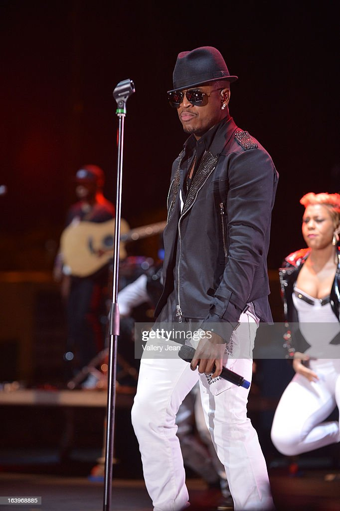 Ne-Yo performs at the 8th Annual Jazz In The Gardens Music Festival - Day 2 at Sun Life Stadium on March 17, 2013 in Miami Gardens, Florida.