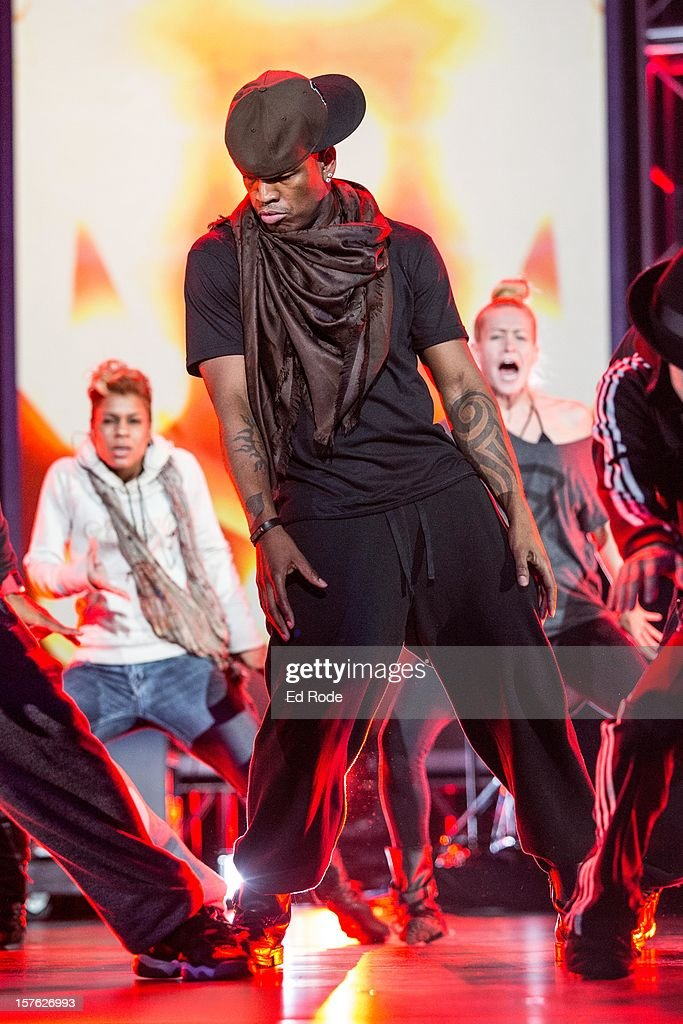 NeYo performs at the Grammy Nominations rehearsals at Bridgestone Arena on December 4 2012 in Nashville Tennessee