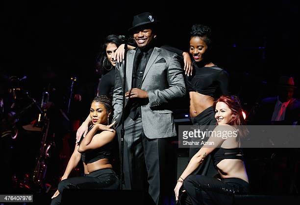 NeYo performs during the 10th Annual Apollo Theater Spring Gala at The Apollo Theater on June 8 2015 in New York City