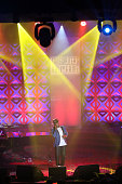 NeYo performs during the Songwriters Hall Of Fame 46th Annual Induction And Awards at Marriott Marquis Hotel on June 18 2015 in New York City