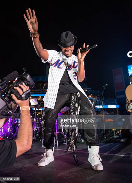 NeYo performs in concert at Citi Field on August 15 2015 in New York City