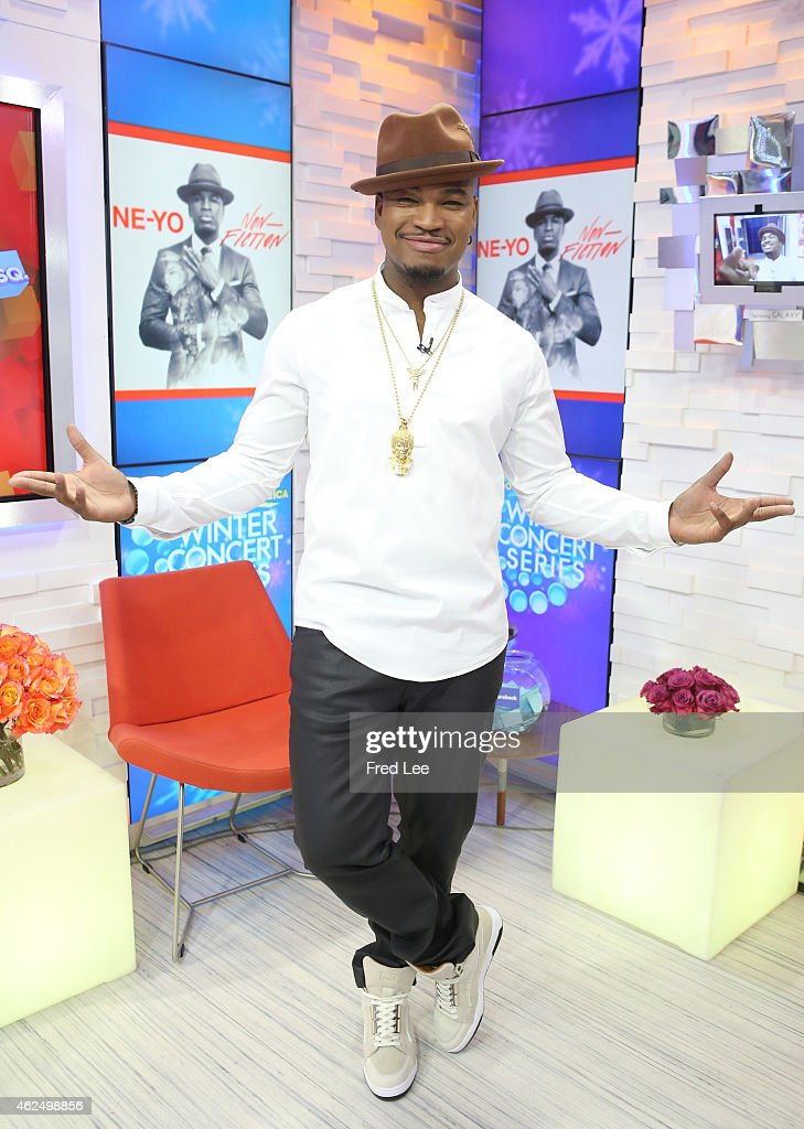 AMERICA - <a gi-track='captionPersonalityLinkClicked' href=/galleries/search?phrase=Ne-Yo&family=editorial&specificpeople=451543 ng-click='$event.stopPropagation()'>Ne-Yo</a> performs live on 'Good Morning America,' 1/26/15, airing on the ABC Television Network.