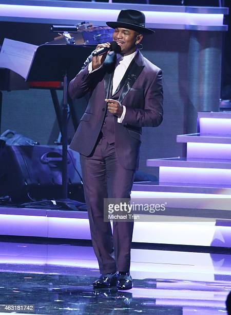 NeYo performs onstage during the Stevie Wonder Songs In The Key Of Life An AllStar GRAMMY Salute held at Nokia Theatre LA Live on February 10 2015 in...