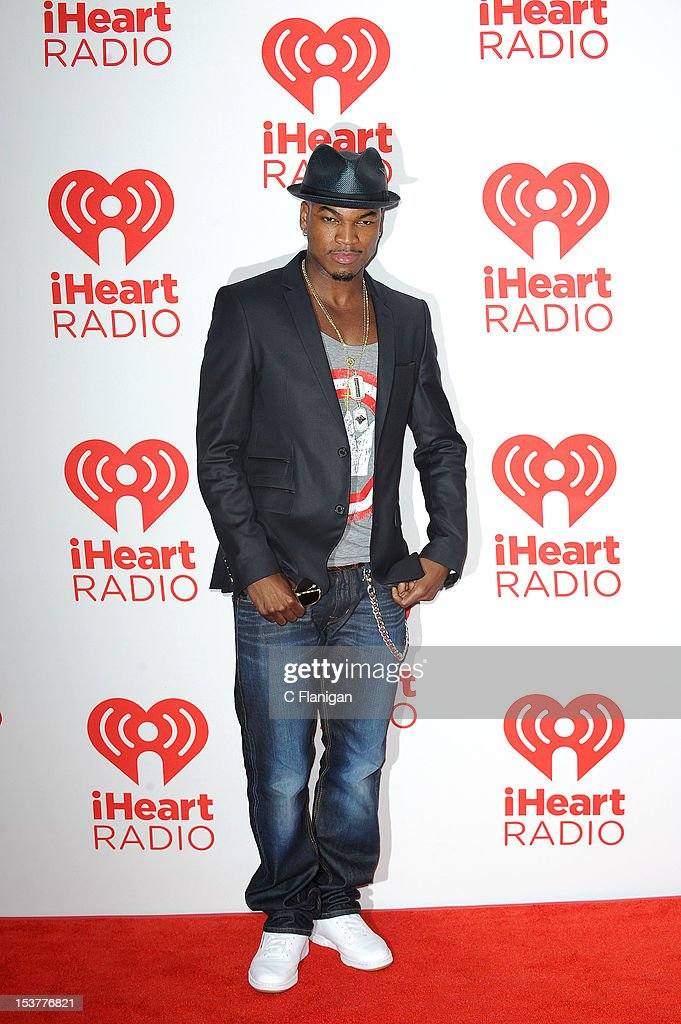 Ne-Yo poses backstage during the 2012 iHeartRadio Music Festival at MGM Grand Garden Arena on September 22, 2012 in Las Vegas, Nevada.