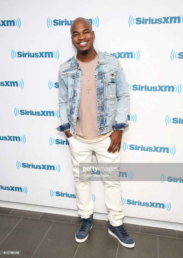 Ne-Yo visits at SiriusXM Studios on July 11, 2017 in New York City.