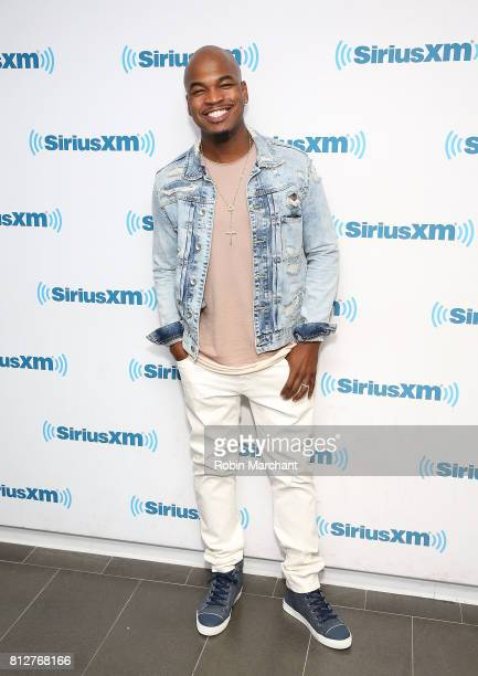 NeYo visits at SiriusXM Studios on July 11 2017 in New York City