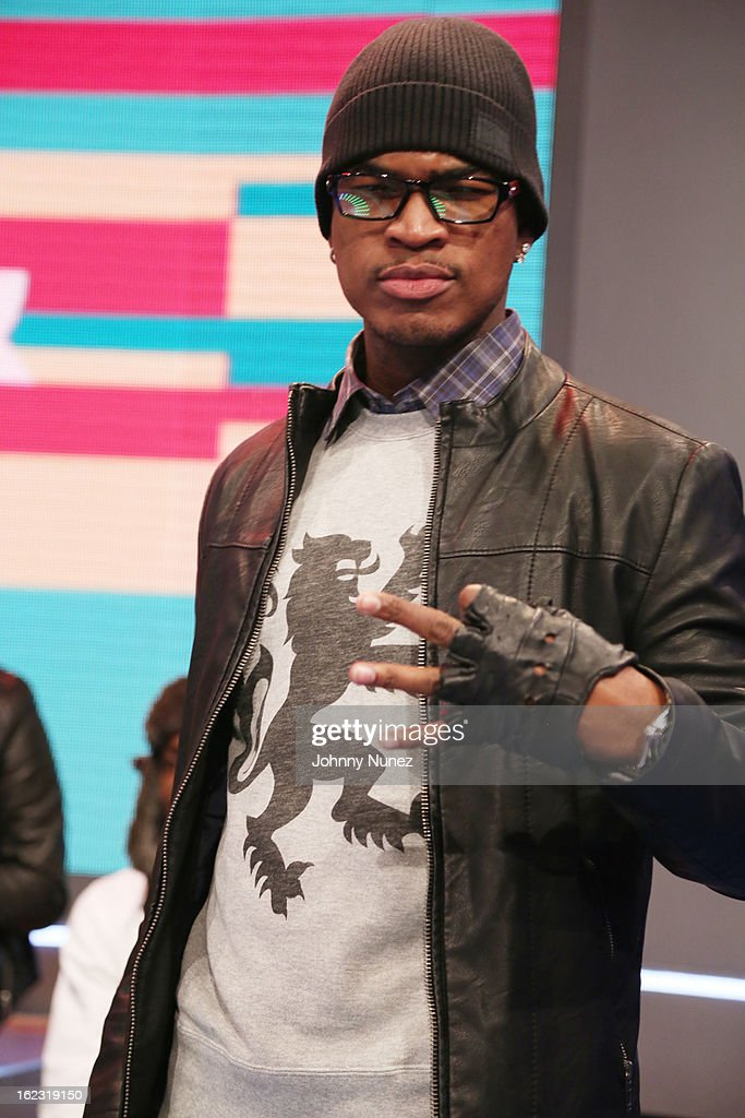 Ne-Yo visits BET's '106 & Park' at BET Studios on February 21, 2013 in New York City.