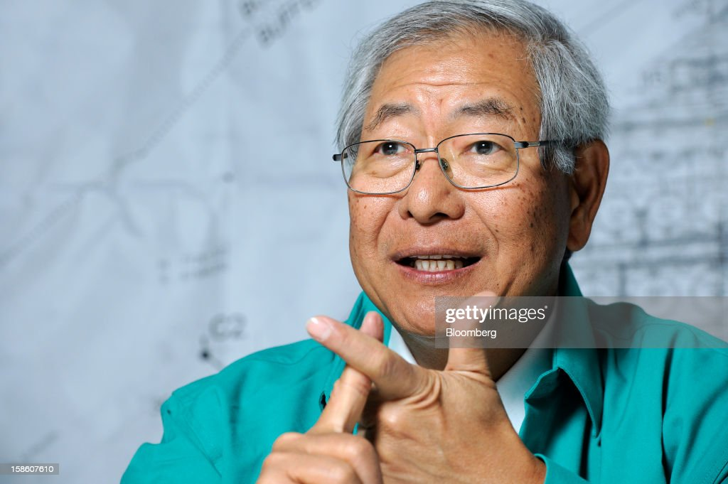 Ngau Boon Keat, managing director of Dialog Group Bhd., gestures as he speaks during an interview in Pengerang, Johor, Malaysia, on Tuesday, Dec. 18, 2012. Dialog, Malaysia's second-biggest oil and gas services provider, said it signed some customers for the 1.9 billion-ringgit ($620 million) storage terminal it's developing with Royal Vopak NV. Photographer: Munshi Ahmed/Bloomberg via Getty Images