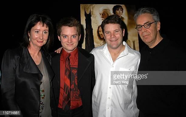 Ngila Dickson Elijah Wood Sean Astin and Howard Shore