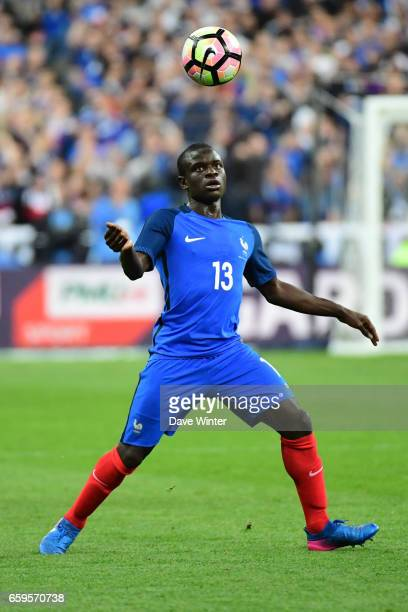 Ngolo Kante of France during the friendly match between France and Spain at Stade de France on March 28 2017 in Paris France