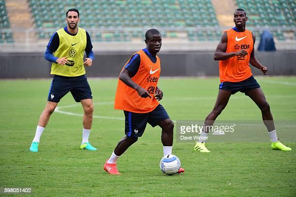 Ngolo Kante of France during the training session before the friendly match between Italy and France at Stadio San Nicola on August 31 2016 in Bari...