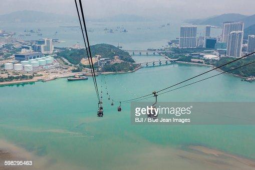 Ngong Ping 360 Cable Cars, Lantau Island, Hong Kong, China