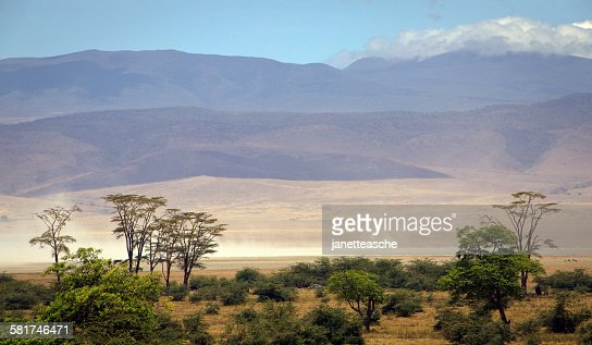 Ngorongoro Crater Wildlife Reserve, Tanzania