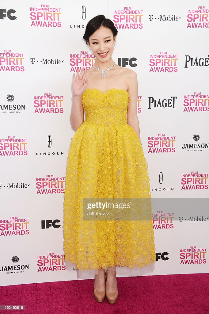 Ni Ni attends the 2013 Film Independent Spirit Awards at Santa Monica Beach on February 23, 2013 in Santa Monica, California.