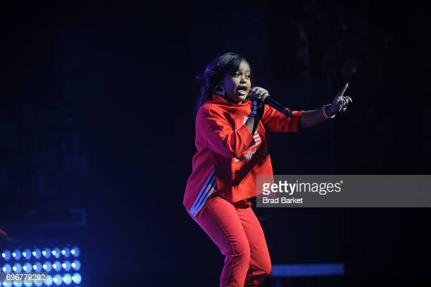 Nia Kay performs at Jermaine Dupri presents SoSoSummer 17 Tour at The Beacon Theatre on June 16 2017 in New York City