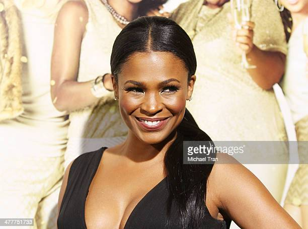 Nia Long arrives at the Los Angeles premiere of 'Tyler Perry's The Single Moms Club' held at ArcLight Cinemas Cinerama Dome on March 10 2014 in...