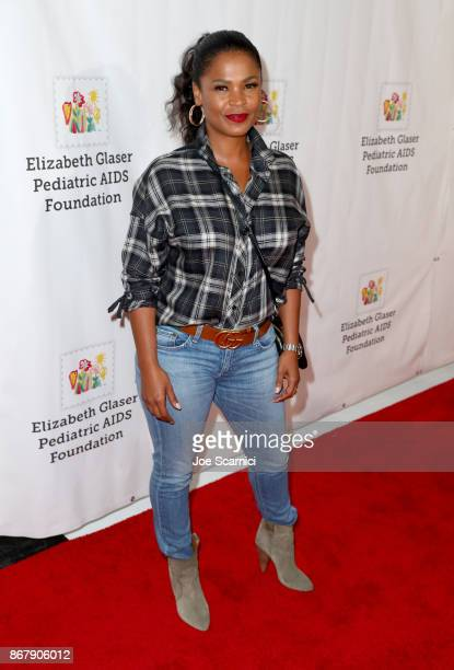Nia Long at The Elizabeth Glaser Pediatric AIDS Foundation's 28th annual 'A Time For Heroes' family festival at Smashbox Studios on October 29 2017...