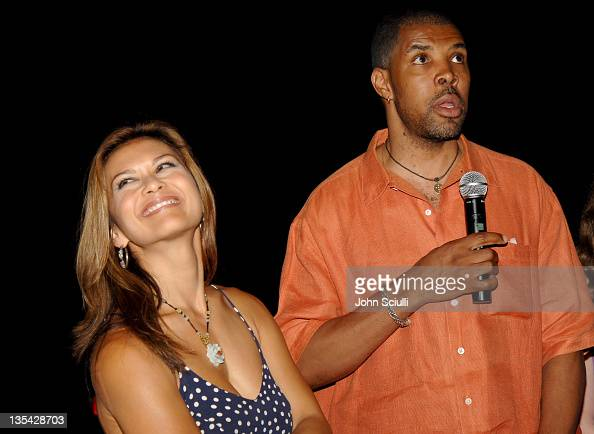 Nia Peeples and Eriq La Salle during CineVegas Film Festival 2005 'Inside Out' Q A at Brenden Theatres in Las Vegas Nevada United States