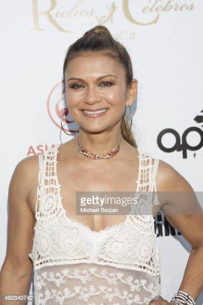 Nia Peeples attends Apldeap Foundation Presents REBUILD PHILIPPINES at The Greek Theatre on June 8 2014 in Los Angeles California