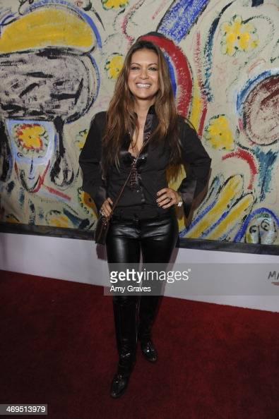 Nia Peeples attends Mending Kids International's 'Rock Roll AllStars' Fundraising Event on February 14 2014 in Hollywood California