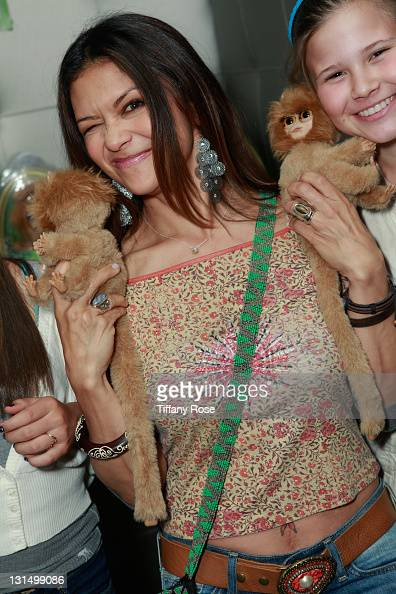 Nia Peeples attends the GBK Kid's Choice Awards 2011 Gift Lounge at the SLS Hotel on April 1 2011 in Beverly Hills California