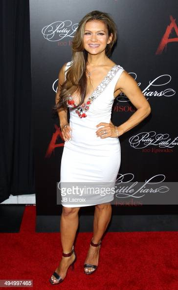 Nia Peeples attends the 'Pretty Little Liars' Celebrates 100 Episodes held at the W Hollywood Hotel on May 31 2014 in Hollywood California