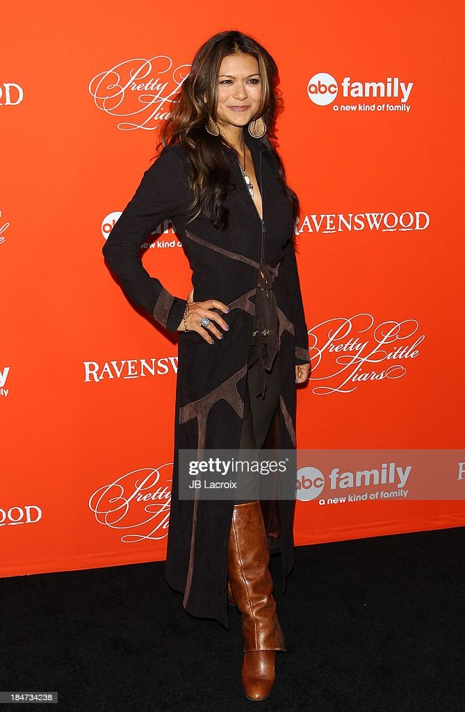 Nia Peeples attends the 'Pretty Little Liars' Special Halloween Episode Premiere Party held at Hollywood Forever on October 15, 2013 in Hollywood, California.