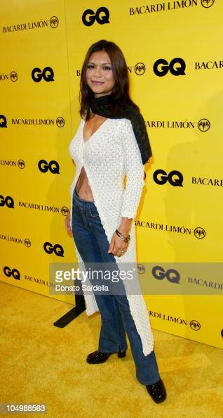 Nia Peeples during GQ Presents 'In the Mix' with Bacardi Limon at The Ivar in Hollywood California United States