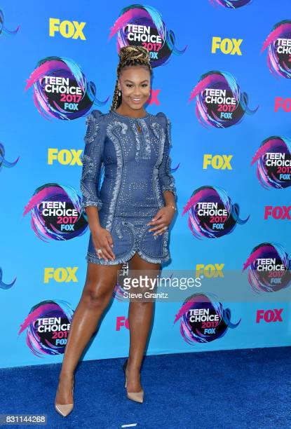 Nia Sioux attends the Teen Choice Awards 2017 at Galen Center on August 13 2017 in Los Angeles California