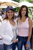 Nia Valdaros and Teri Hatcher during Style Lounge Honoring Heal the Bay Presented by Kari Feinstein PR Day 1 at Chaz Dean Studio in Hollywood...