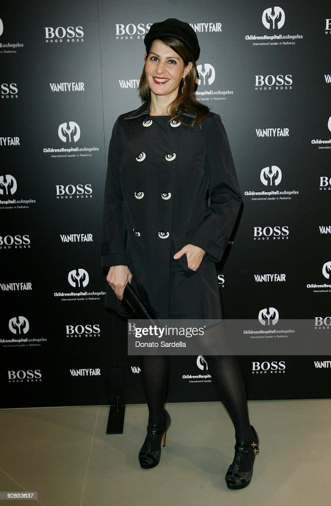 Nia Vardalos attends Hugo Boss & Vanity Fair with Elizabeth Banks Host Children's Hospital Los Angeles Benefit on November 5, 2009 in Beverly Hills, California.