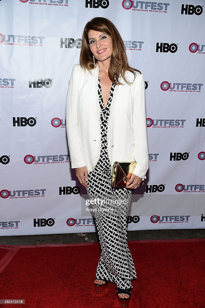 Nia Vardalos attends the 2014 Outfest Los Angeles screening Of 'Helicopter Mom' at Ford Theatre on July 19 2014 in Hollywood California