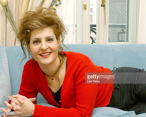 Nia Vardalos during Nia Vardalos Promoting 'My Big Fat Greek Wedding' in Spain at The Ritz Hotel Madrid in Madrid Spain