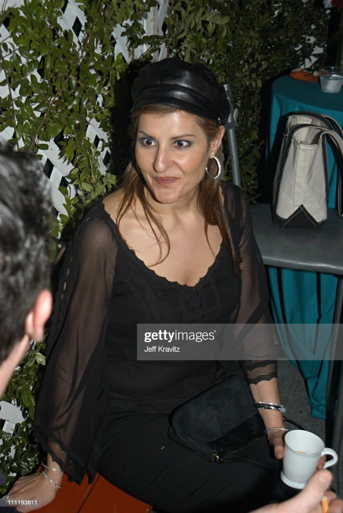 Nia Vardalos during VH1 Big in 2002 Awards - After Party at Grand Olympic Auditorium in Los Angeles, CA, United States.