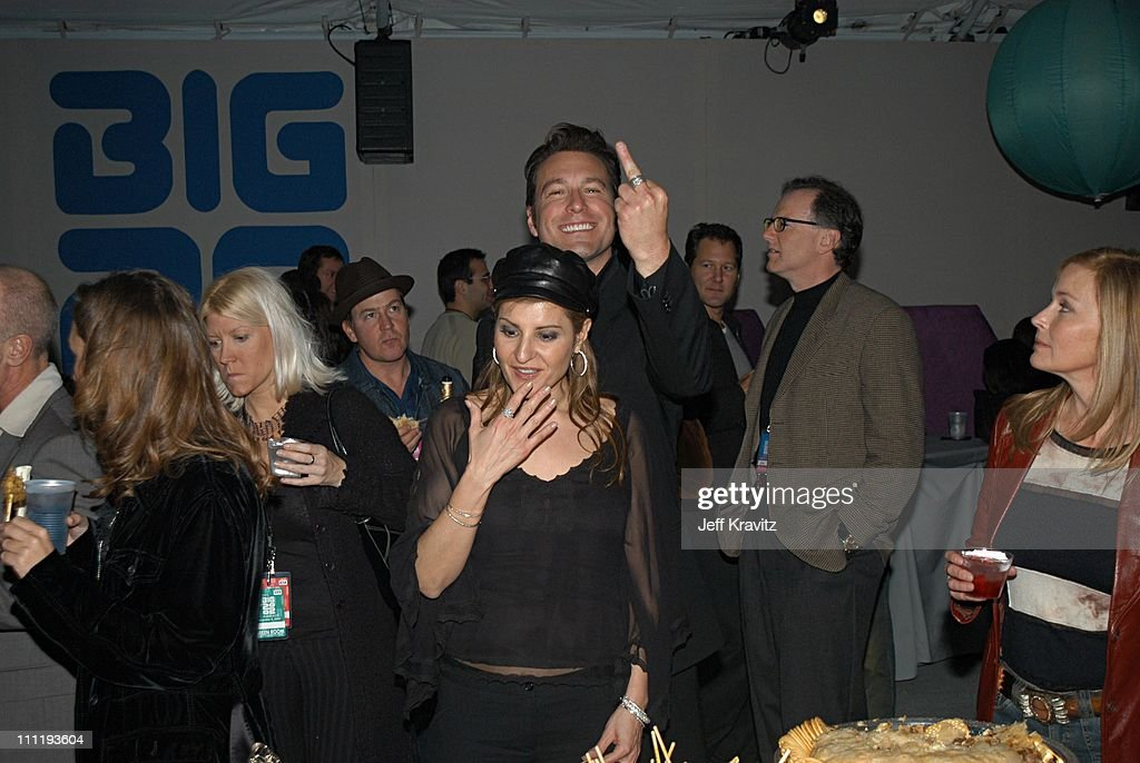Nia Vardalos, John Corbett and Bo Derek during VH1 Big in 2002 Awards - Backstage and Audience at Grand Olympic Auditorium in Los Angeles, CA, United States.