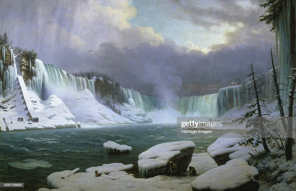 Niagara Falls in Winter Found in the collection of Musée des BeauxArts Rouen