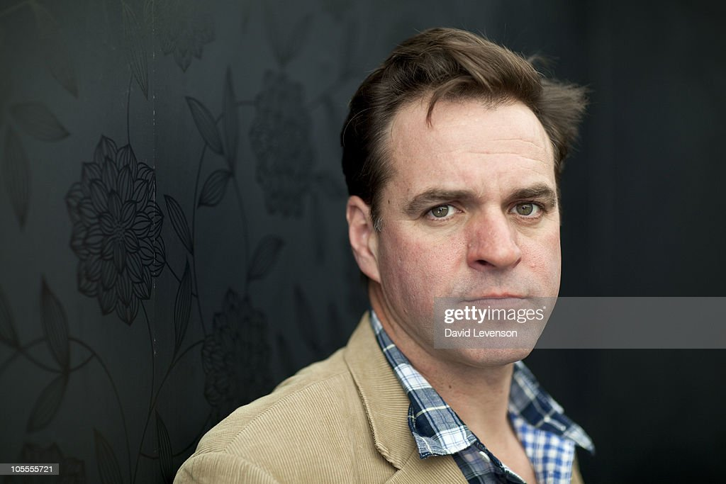Niall Ferguson ,historian and author, poses for a portrait at the Cheltenham Literature Festival on October 16, 2010 in Cheltenham, England.