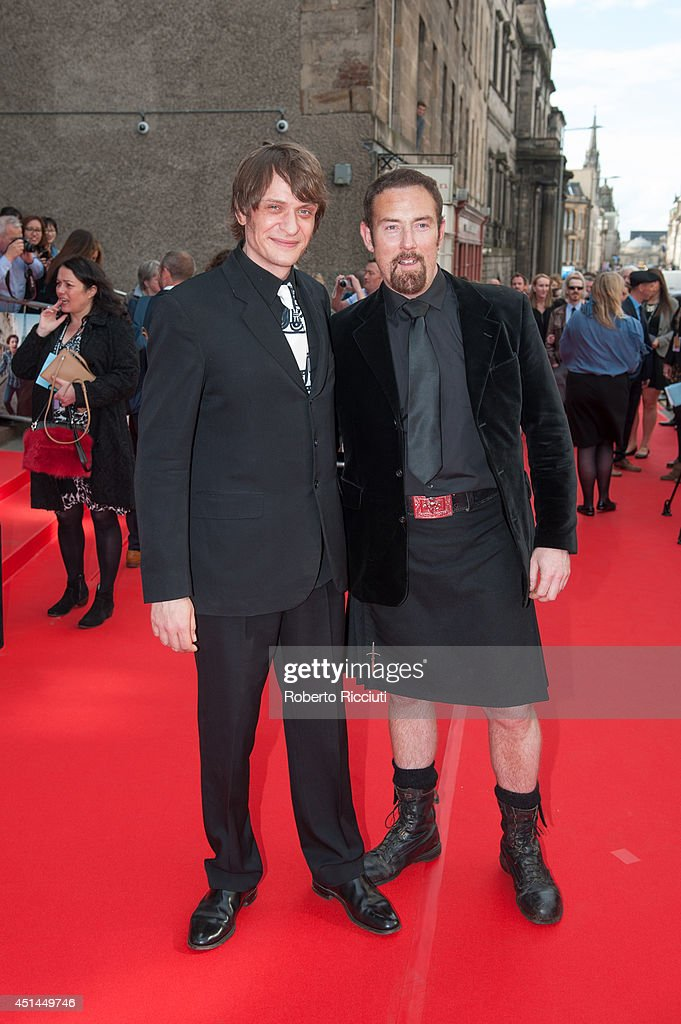 Niall Greig Fulton and Bryan Larkin attend the Closing Night Gala and International Premiere of 'We'll Never Have Paris' at Festival Theatre during the Edinburgh International Film Festival on June 29, 2014 in Edinburgh, Scotland.