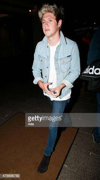 Niall Horan arrives at the Grosvenor House Hotel after the final of Britain's Got Talent on May 31 2015 in London England