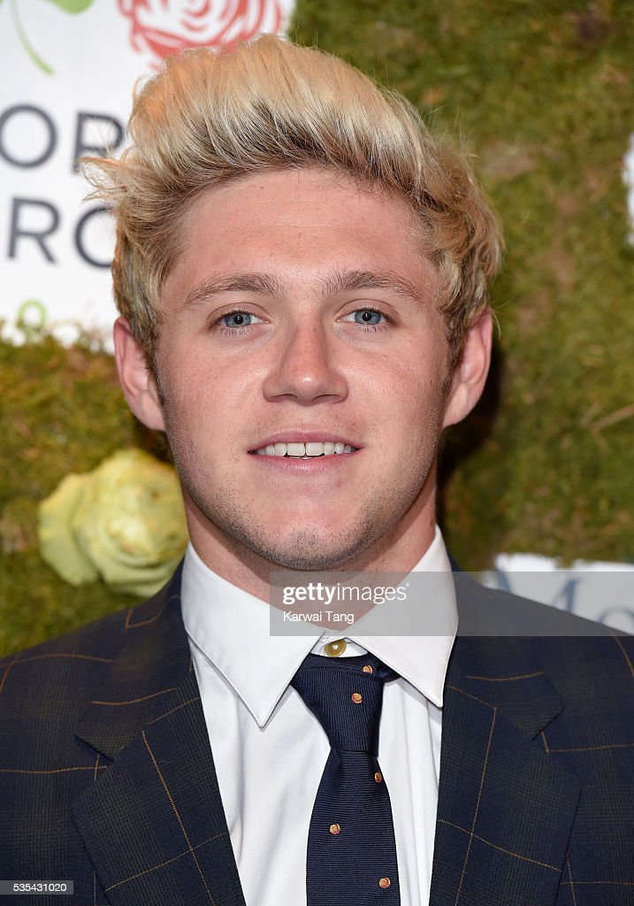 <a gi-track='captionPersonalityLinkClicked' href=/galleries/search?phrase=Niall+Horan&family=editorial&specificpeople=7229827 ng-click='$event.stopPropagation()'>Niall Horan</a> arrives for The Horan And Rose event at The Grove on May 29, 2016 in Watford, England.
