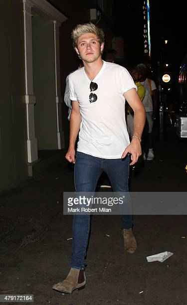 Niall Horan at Soho House on July 1 2015 in London England
