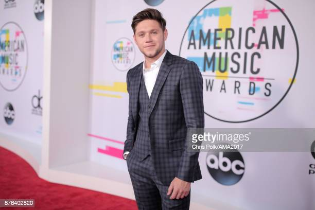Niall Horan attends the 2017 American Music Awards at Microsoft Theater on November 19 2017 in Los Angeles California