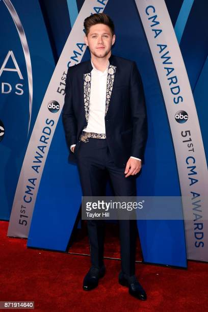 Niall Horan attends the 51st annual CMA Awards at the Bridgestone Arena on November 8 2017 in Nashville Tennessee