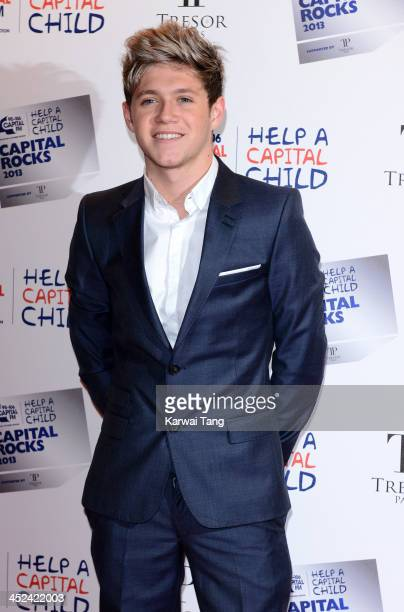 Niall Horan attends the annual 'Capital Rocks' concert in aid of the 'Help a Capital child' charity at The Roundhouse on November 28 2013 in London...
