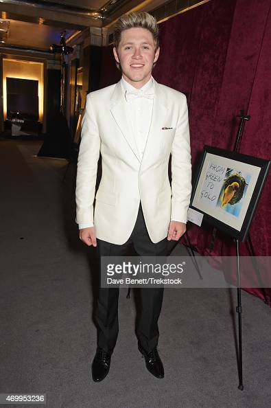 Niall Horan attends The Great Gatsby Ball in support of Trekstock at Bloomsbury Ballroom on April 16 2015 in London England