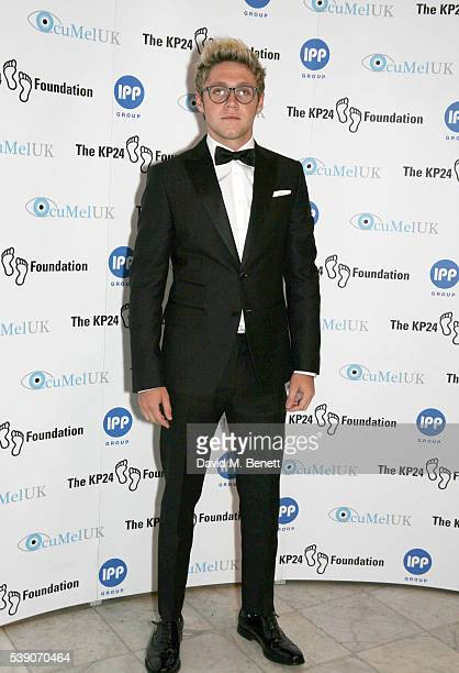 Niall Horan attends the KP24 Foundation Charity Gala Dinner at The Waldorf Hilton Hotel on June 9 2016 in London England